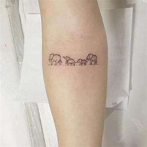 Mini Tattoos Männer : tiny and small tattoo design model for 2017 image description 26200916 elephant tattoos ~ Frokenaadalensverden.com Haus und Dekorationen