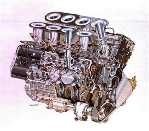 video assembling  ford cosworth dfv  engine motion