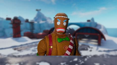 Gingerbread Man Back Bling Potentially Coming To Fortnite