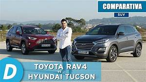Comparativa Suv  Toyota Rav4 Hybrid 2019 Vs Hyundai Tucson 2019