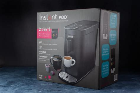 The instant pod coffee maker is, overall, successful at what it does. Instant Pod Coffee Maker Review   Amy + Jacky