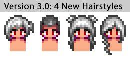 improved   hairstyles  stardew valley nexus mods