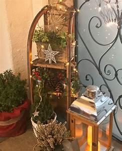 Weihnachtsdeko Draußen Basteln : schlittendeko adventsdeko deko weihnachten schlitten ~ A.2002-acura-tl-radio.info Haus und Dekorationen