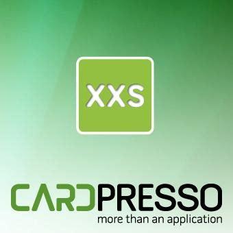 cardpresso xxs cardpresso software