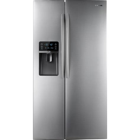 samsung counter depth refrigerator side by side samsung 30 0 cu ft side by side refrigerator stainless