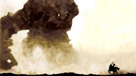 shadow   colossus colossal titan artwork fantasy