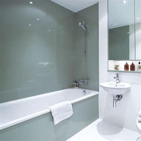 bathroom paneling ideas install sleek glass panels bathroom design ideas housetohome co uk