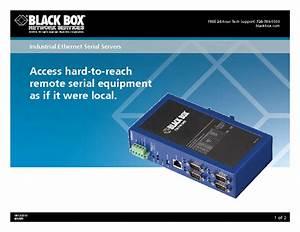 Industrial Ethernet Serial Server Les404a Les404a Manuals