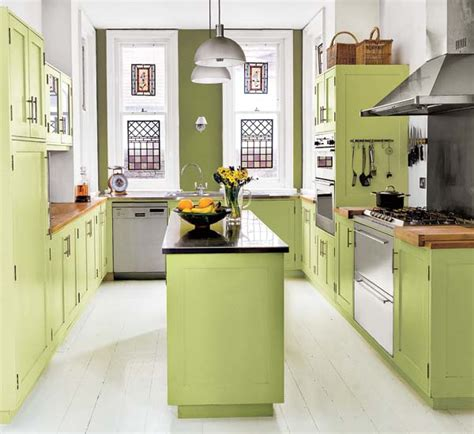 feel a brand kitchen with these popular paint colors