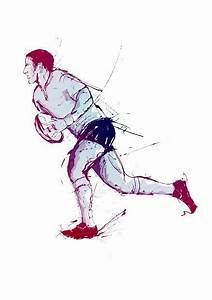 86 best rugby art images on Pinterest | Action poses, How ...