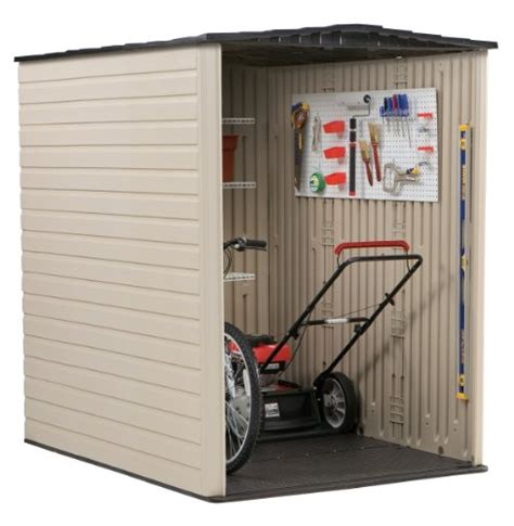 rubbermaid plastic large outdoor storage shed 159 cubic