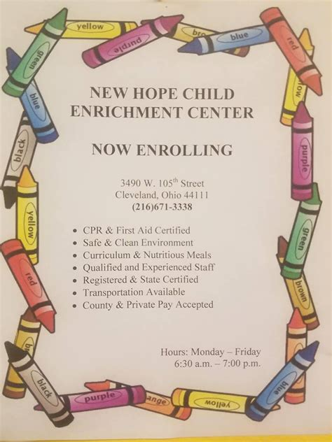 new hope child care and preschool new child enrichment center 11 photos child care 485
