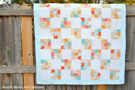 nine patch quilt nine patch quilt block tutorial simple simon and company