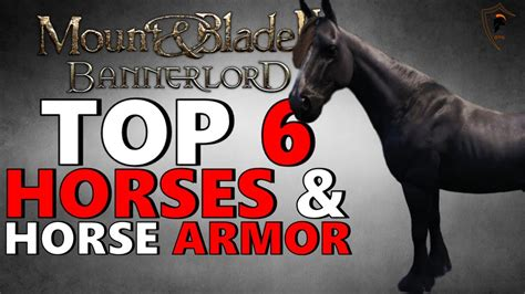 bannerlord blade horse mount