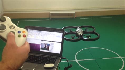 ar drone controlado por xbox  wireless controller youtube