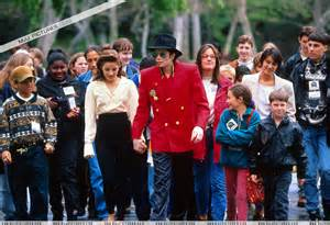 Michael Jackson at Neverland Children