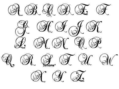 lettere alfabeto gotico lettere in corsivo da copiare idea d immagine di decorazione