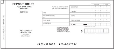blank deposit slip how to fill out deposit slip newhairstylesformen2014