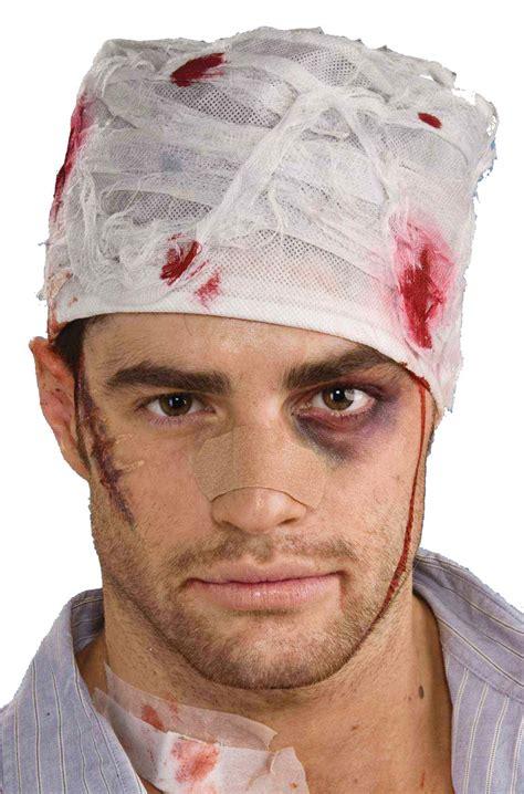 bloody head bandage purecostumescom