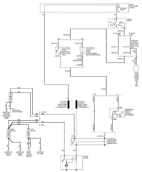 F250 Duty Wiring Schematic by 1997 Ford F250 Light Duty System Wiring Diagram