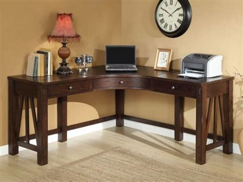 rustic wood corner desk rustic wood corner desk for monitor a unique and classic