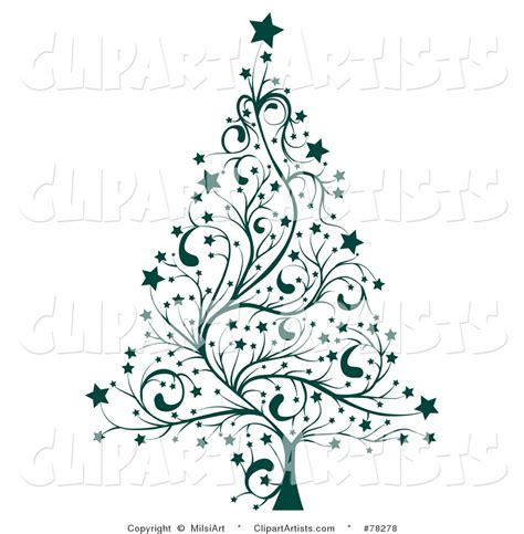 tree template black and white tree clip art black and white larger preview vector