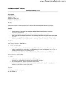 change management resume exles change manager sle resume