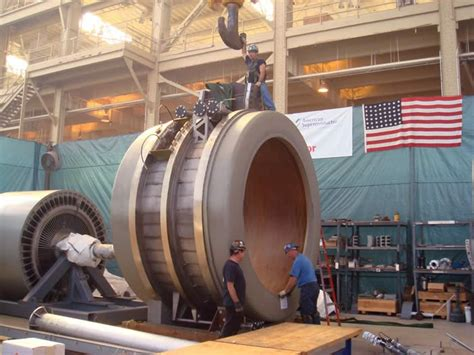 Largest Electric Motor by Navy Tests World S Most Powerful Superconductor Ship Motor