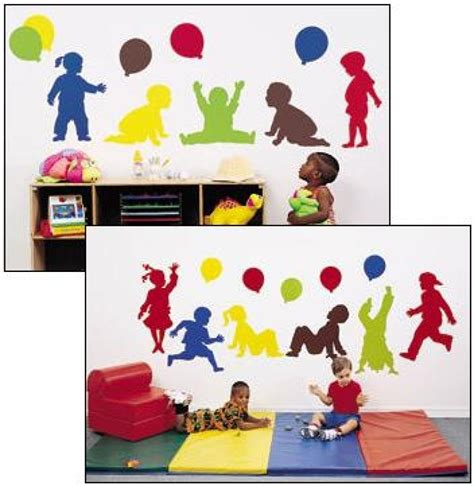 20 best collection of preschool wall decoration wall 249 | daycare decor decorating vinyl wall murals preschool wall within preschool wall decoration