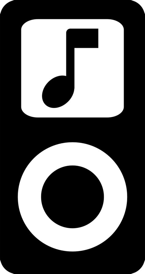 Apple IPod With Musical Note Symbol Svg Png Icon Free Download (#41079) - OnlineWebFonts.COM
