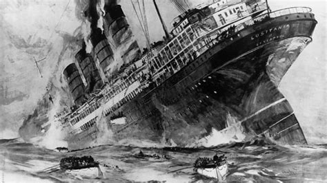 bbc world service witness the sinking of the lusitania