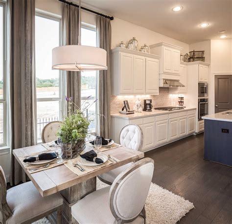 10 Interior Design Decorated Homes by Model Home In San Antonio Coronado Community Blue