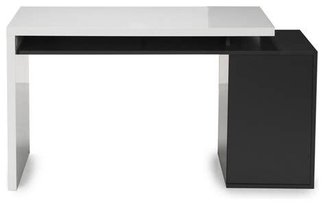 secretaire moderne bureau fusion bureau style moderne avec caisson intégré moderne