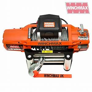 Winchmax Sl Electric Winch 12v 13 500lb  With Mounting