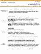 Digital Marketing Resume Of Bridget Thornton Resume For Electronic Technician 10 Marketing Resume Samples Hiring Managers Will Notice 10 Digital Resume Templates Free PDF Word PSD