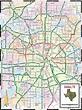Map of Dallas Texas - TravelsMaps.Com