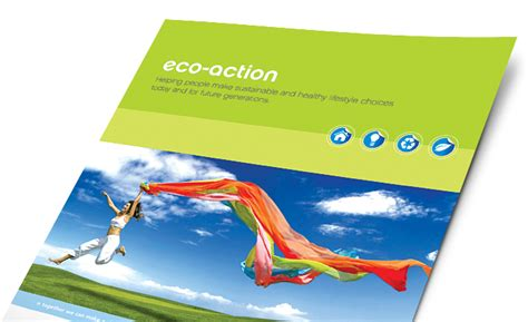 energy environment marketing brochures flyers