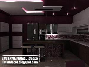 Top catalog of kitchen ceiling designs ideasgypsum false for Modern false ceiling design for kitchen