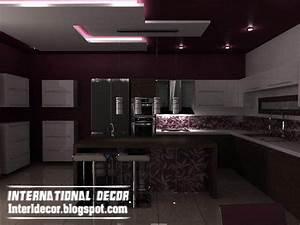 Top catalog of kitchen ceiling designs ideasgypsum false for Modern false ceiling design for kitchen