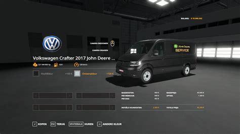 volkswagen crafter  john deere service  ls