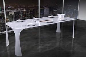 Table à Manger Blanche : table manger 25 id es de design innovant et moderne ~ Teatrodelosmanantiales.com Idées de Décoration