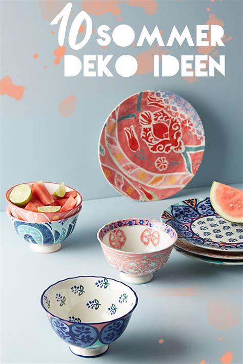 Home Deko Ideen by Deko Shopping 10 Sommerliche Ideen F 252 R Die Eigenen 4 W 228 Nde