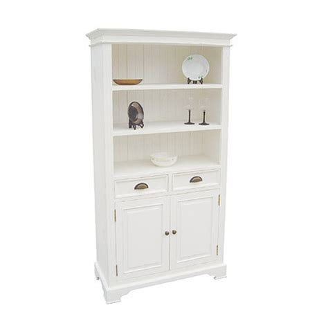white bookcase with drawers book cases kristina white 2 door 2 drawer bookcase 916 411