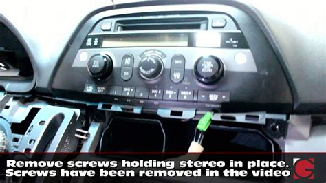 remove stereo install grom iphone usb bluetooth