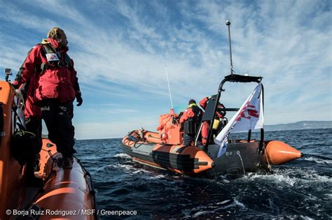 Msf Refugee Boat by Responding To Refugee Boats In Distress