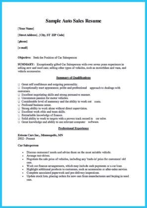 Car Salesman Resume Exle by Captivating Car Salesman Resume Ideas For Flawless Resume