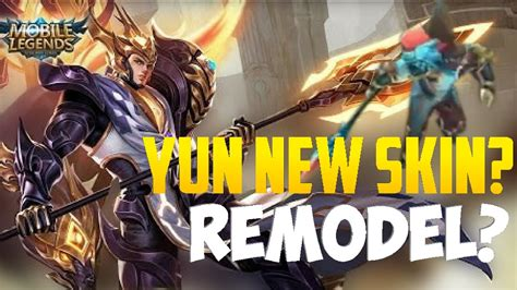 Mobile Legends Yun Zhao Re-model? New Skin?