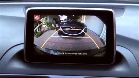 mazda rearview   camera tutorial youtube