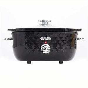 5L Slow Cooker - Black Kmart
