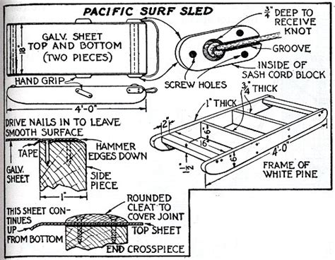 Sled Deck Plans by Sled Deck Blueprints Images